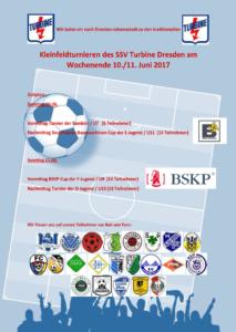 Kleinfeldturniere des SSV Turbine Dresden @ Kunstrasenplatz Johannstadt | Dresden | Sachsen | Deutschland